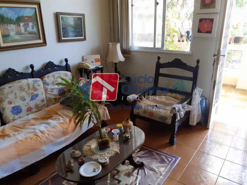 01- Sala - Casa à venda Rua Viseu,Rocha, Rio de Janeiro - R$ 340.000 - VPCA40071 - 1