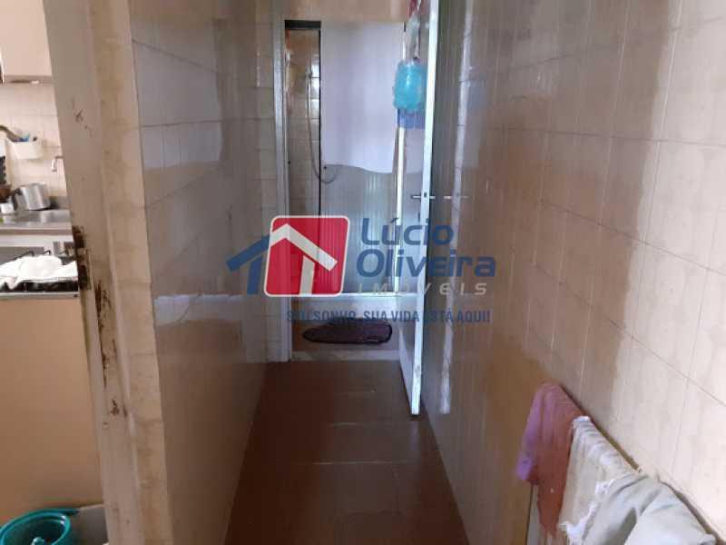09- Circulação - Casa à venda Rua Viseu,Rocha, Rio de Janeiro - R$ 340.000 - VPCA40071 - 10