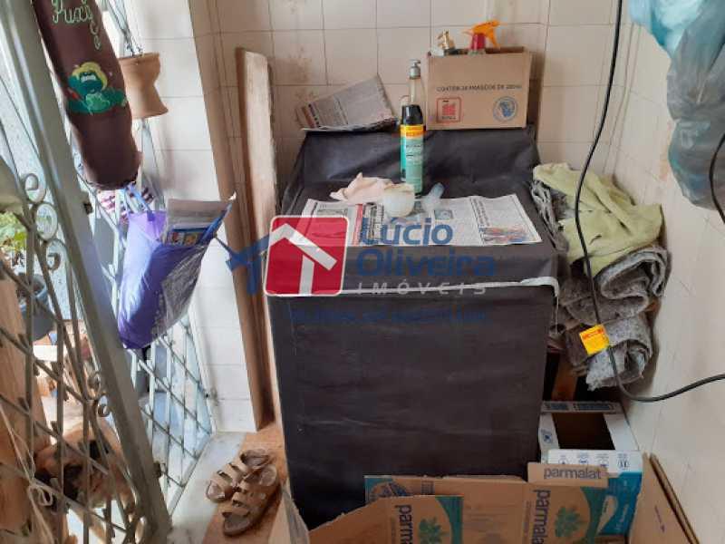 14- Area - Casa à venda Rua Viseu,Rocha, Rio de Janeiro - R$ 340.000 - VPCA40071 - 15