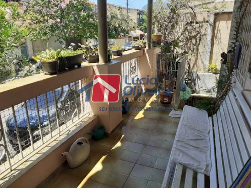 15- Varanda - Casa à venda Rua Viseu,Rocha, Rio de Janeiro - R$ 340.000 - VPCA40071 - 16