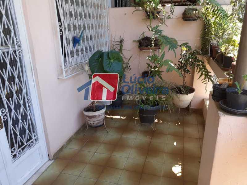 16- Varanda - Casa à venda Rua Viseu,Rocha, Rio de Janeiro - R$ 340.000 - VPCA40071 - 17