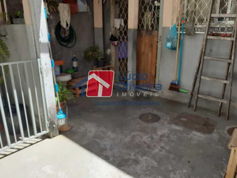18- Area externa - Casa à venda Rua Viseu,Rocha, Rio de Janeiro - R$ 340.000 - VPCA40071 - 19