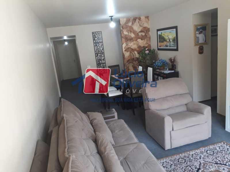 1- Sala ambiente. - Apartamento à venda Rua São Pedro,Cascadura, Rio de Janeiro - R$ 230.000 - VPAP30412 - 5