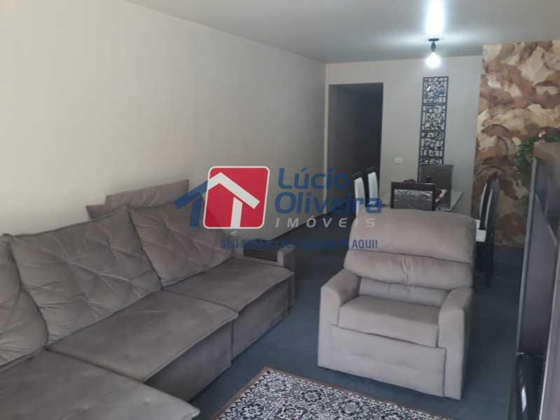 2- Sala ambiente - Apartamento à venda Rua São Pedro,Cascadura, Rio de Janeiro - R$ 230.000 - VPAP30412 - 6