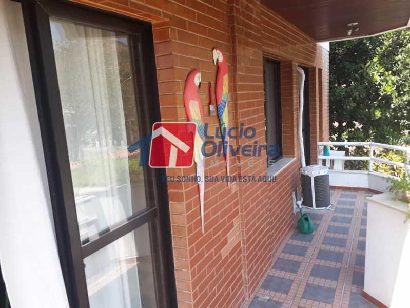 4-Varanda.... - Apartamento à venda Rua São Pedro,Cascadura, Rio de Janeiro - R$ 230.000 - VPAP30412 - 3