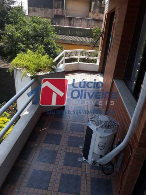 5-Varanda - Apartamento à venda Rua São Pedro,Cascadura, Rio de Janeiro - R$ 230.000 - VPAP30412 - 4
