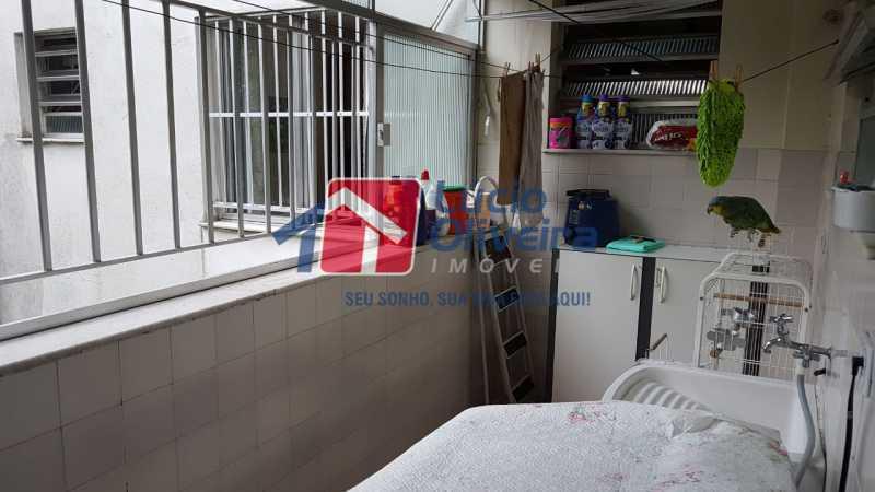 14-Area serviço lavanderia - Apartamento à venda Rua São Pedro,Cascadura, Rio de Janeiro - R$ 230.000 - VPAP30412 - 16
