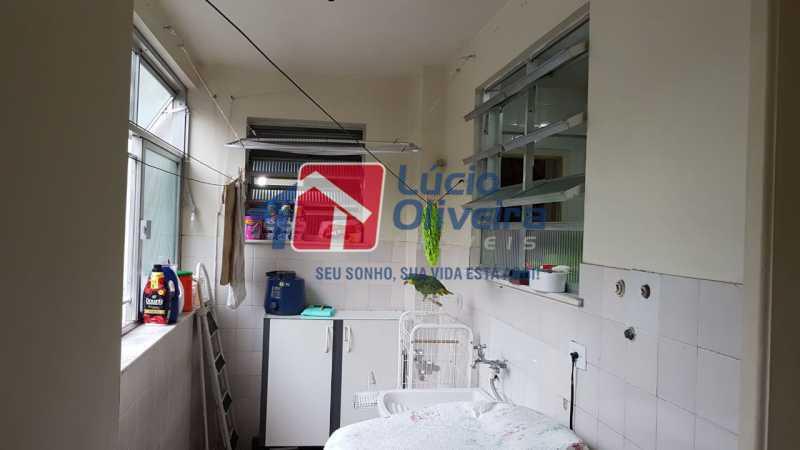 15-Lavanderia - Apartamento à venda Rua São Pedro,Cascadura, Rio de Janeiro - R$ 230.000 - VPAP30412 - 17