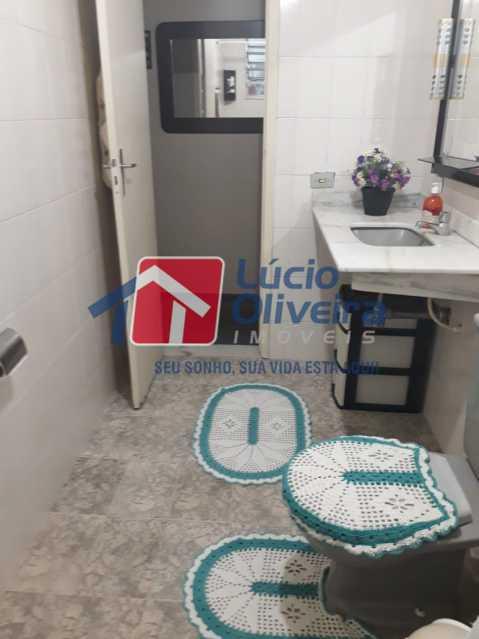 17-Banheiro social - Apartamento à venda Rua São Pedro,Cascadura, Rio de Janeiro - R$ 230.000 - VPAP30412 - 19