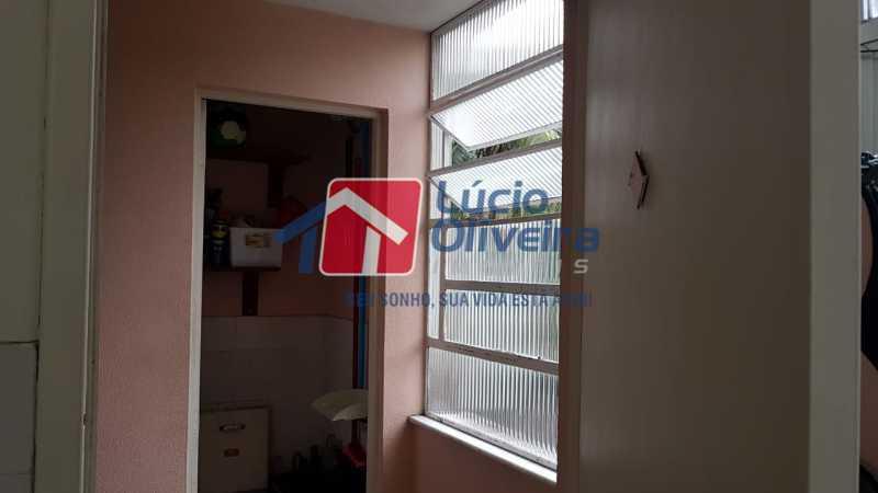 19-Banheiro empregada - Apartamento à venda Rua São Pedro,Cascadura, Rio de Janeiro - R$ 230.000 - VPAP30412 - 21