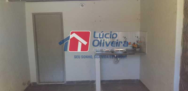 16 - Banheiro Área Gourmet - Apartamento à venda Rua Guaporé,Braz de Pina, Rio de Janeiro - R$ 105.000 - VPAP10175 - 17