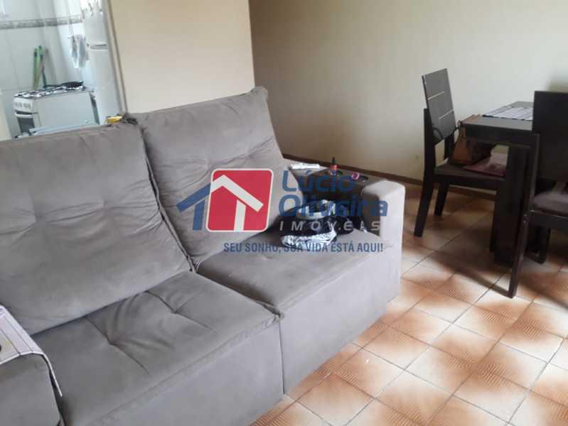 1-Sala ambiente - Apartamento à venda Avenida Pastor Martin Luther King Jr,Tomás Coelho, Rio de Janeiro - R$ 200.000 - VPAP21637 - 1