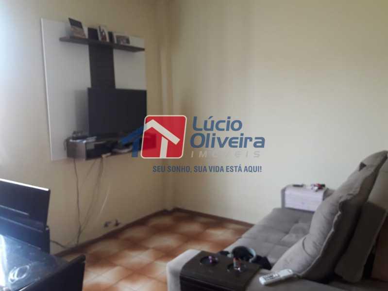 2- Sala ambiente - Apartamento à venda Avenida Pastor Martin Luther King Jr,Tomás Coelho, Rio de Janeiro - R$ 200.000 - VPAP21637 - 3