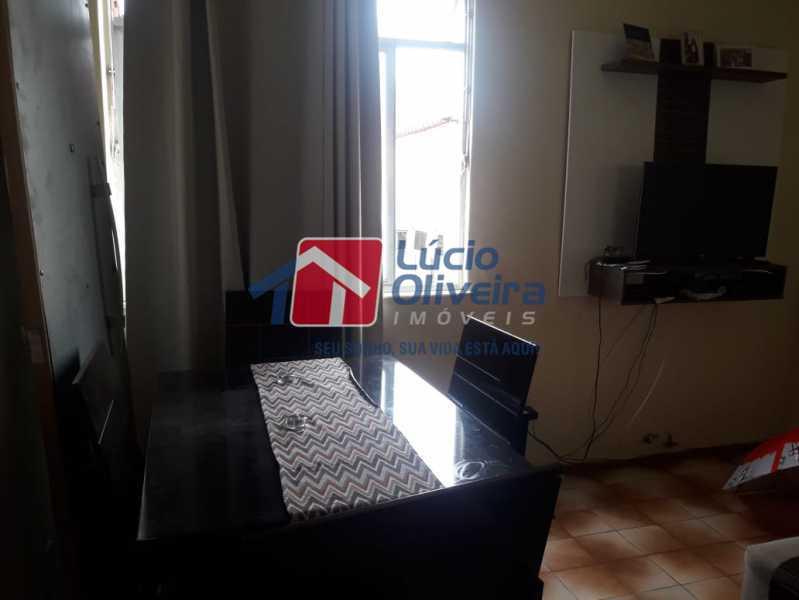 3-Sala ambiente - Apartamento à venda Avenida Pastor Martin Luther King Jr,Tomás Coelho, Rio de Janeiro - R$ 200.000 - VPAP21637 - 4