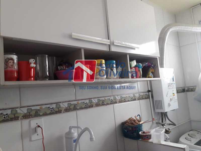 7-Cozinha armarios... - Apartamento à venda Avenida Pastor Martin Luther King Jr,Tomás Coelho, Rio de Janeiro - R$ 200.000 - VPAP21637 - 8