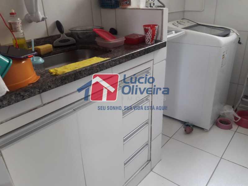 8-Cozinha e area de serviço - Apartamento à venda Avenida Pastor Martin Luther King Jr,Tomás Coelho, Rio de Janeiro - R$ 200.000 - VPAP21637 - 9