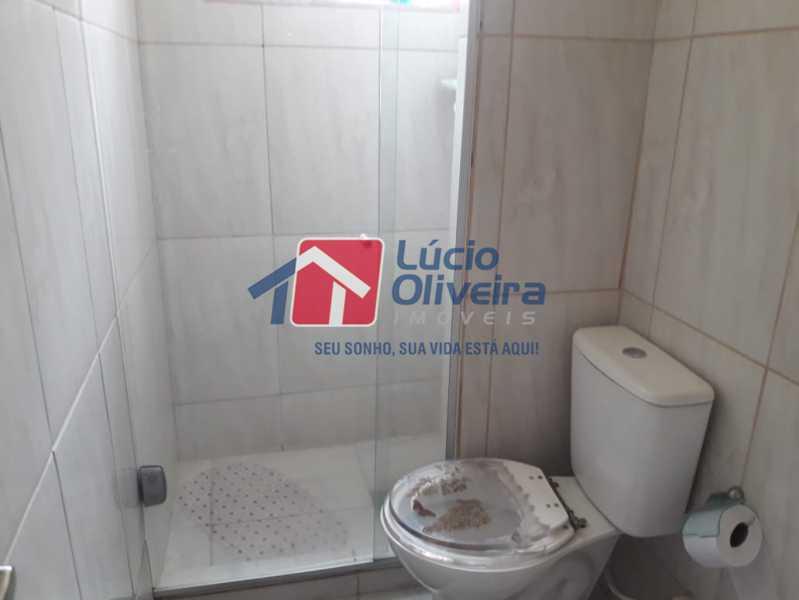 11-Banheiro social - Apartamento à venda Avenida Pastor Martin Luther King Jr,Tomás Coelho, Rio de Janeiro - R$ 200.000 - VPAP21637 - 12
