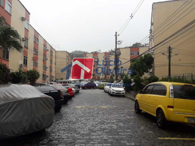 14-Garagem parqueamento - Apartamento à venda Avenida Pastor Martin Luther King Jr,Tomás Coelho, Rio de Janeiro - R$ 200.000 - VPAP21637 - 15