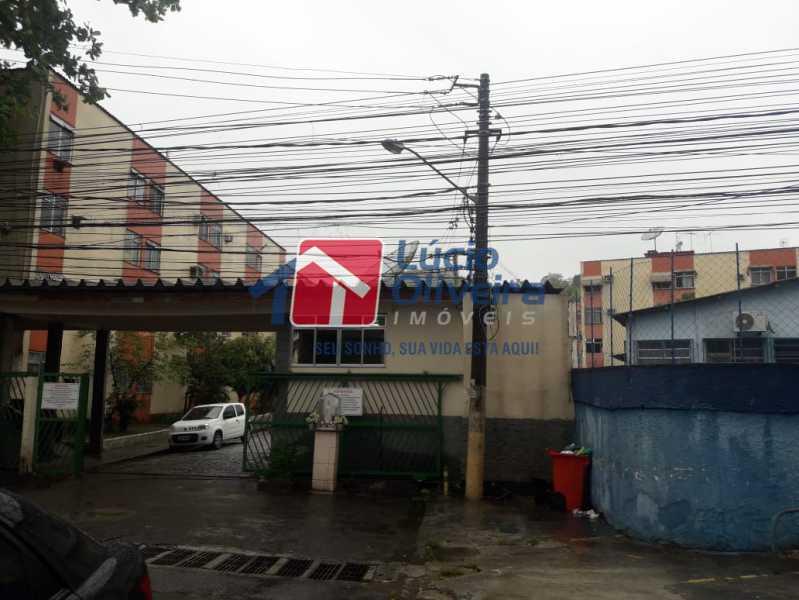 16-Portaria externa - Apartamento à venda Avenida Pastor Martin Luther King Jr,Tomás Coelho, Rio de Janeiro - R$ 200.000 - VPAP21637 - 17