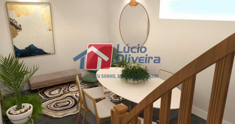 fotos-8 - Casa à venda Rua Uruguai,Tijuca, Rio de Janeiro - R$ 790.000 - VPCA30223 - 8