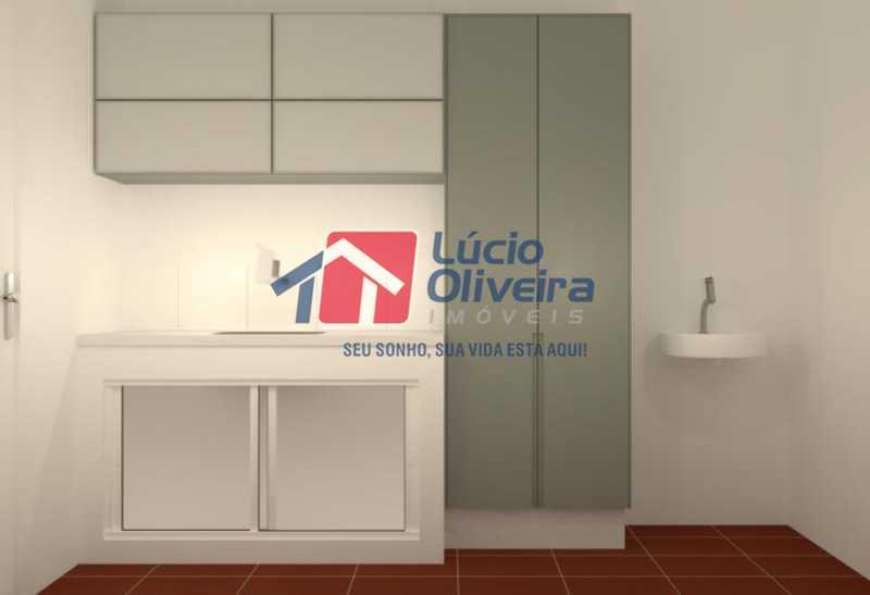 fotos-21 - Casa à venda Rua Uruguai,Tijuca, Rio de Janeiro - R$ 790.000 - VPCA30223 - 21