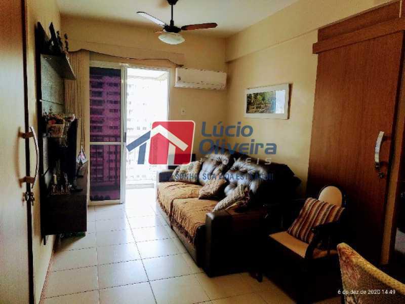 1- Sala ambiente varanda - Apartamento à venda Rua Bernardo Taveira,Vila da Penha, Rio de Janeiro - R$ 420.000 - VPAP21644 - 1