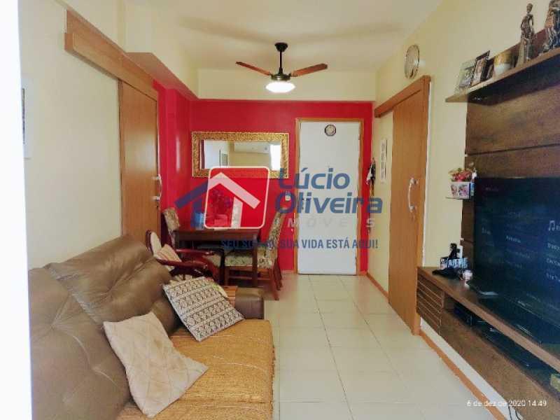 2- Sala ambiente - Apartamento à venda Rua Bernardo Taveira,Vila da Penha, Rio de Janeiro - R$ 420.000 - VPAP21644 - 3