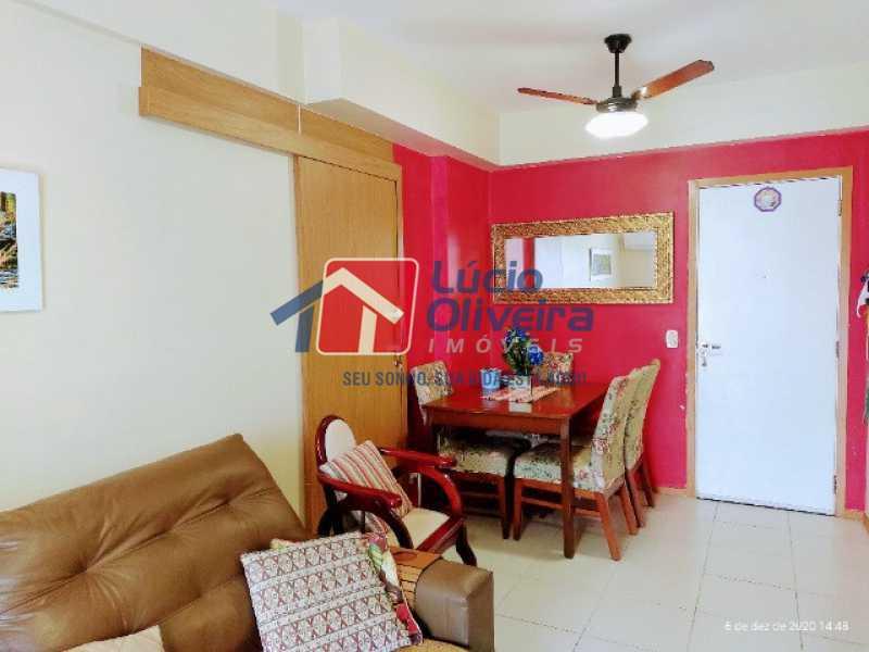3-Sala jantar - Apartamento à venda Rua Bernardo Taveira,Vila da Penha, Rio de Janeiro - R$ 420.000 - VPAP21644 - 4