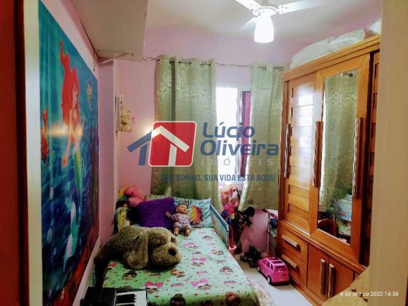 6-Quarto solteiro.. - Apartamento à venda Rua Bernardo Taveira,Vila da Penha, Rio de Janeiro - R$ 420.000 - VPAP21644 - 7