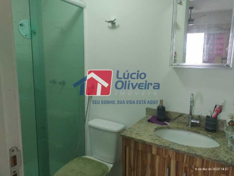 9-Banheiro social - Apartamento à venda Rua Bernardo Taveira,Vila da Penha, Rio de Janeiro - R$ 420.000 - VPAP21644 - 10