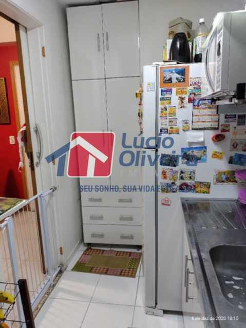 11-Cozinha armario embutido - Apartamento à venda Rua Bernardo Taveira,Vila da Penha, Rio de Janeiro - R$ 420.000 - VPAP21644 - 12
