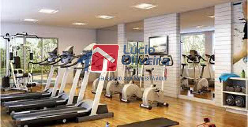 15-Academia - Apartamento à venda Rua Bernardo Taveira,Vila da Penha, Rio de Janeiro - R$ 420.000 - VPAP21644 - 16