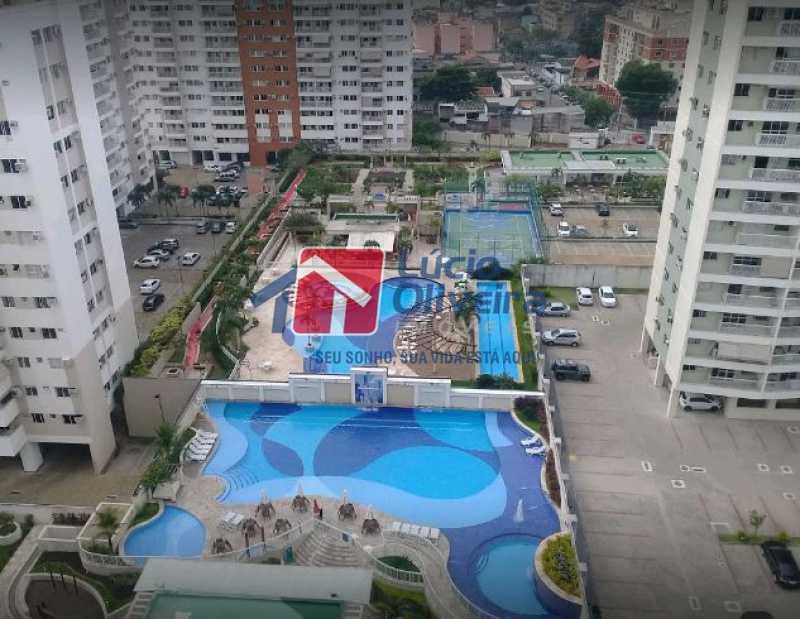 16-Piscinas - Apartamento à venda Rua Bernardo Taveira,Vila da Penha, Rio de Janeiro - R$ 420.000 - VPAP21644 - 17