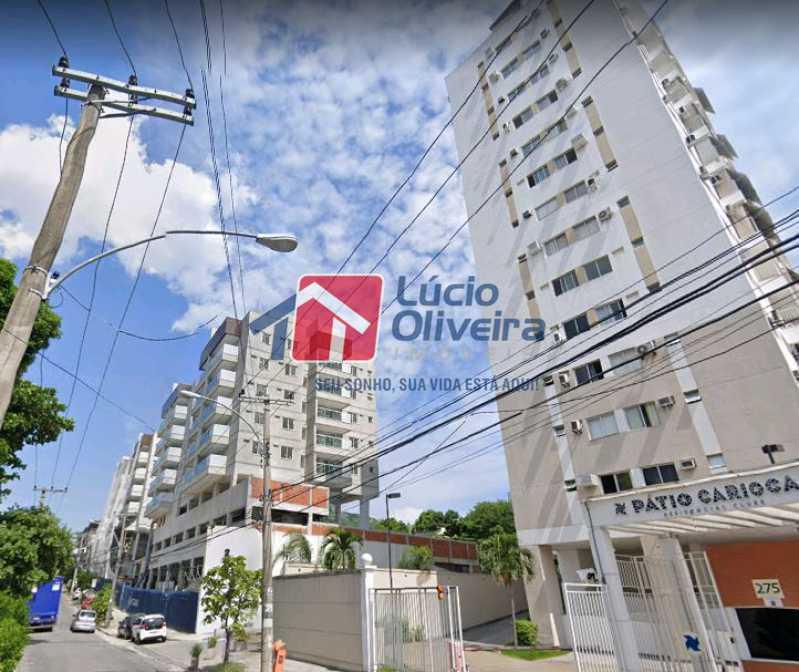 20-Vista Externa Rua - Apartamento à venda Rua Bernardo Taveira,Vila da Penha, Rio de Janeiro - R$ 420.000 - VPAP21644 - 21
