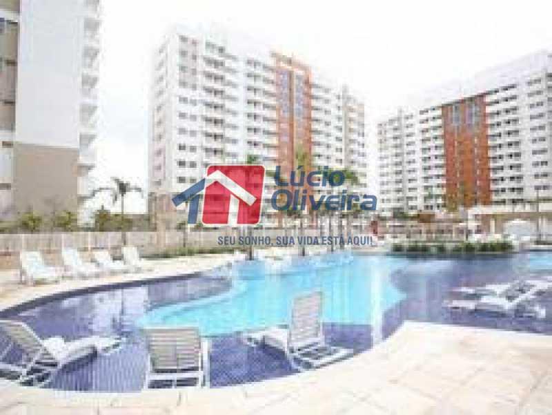 23-Piscina - Apartamento à venda Rua Bernardo Taveira,Vila da Penha, Rio de Janeiro - R$ 420.000 - VPAP21644 - 24