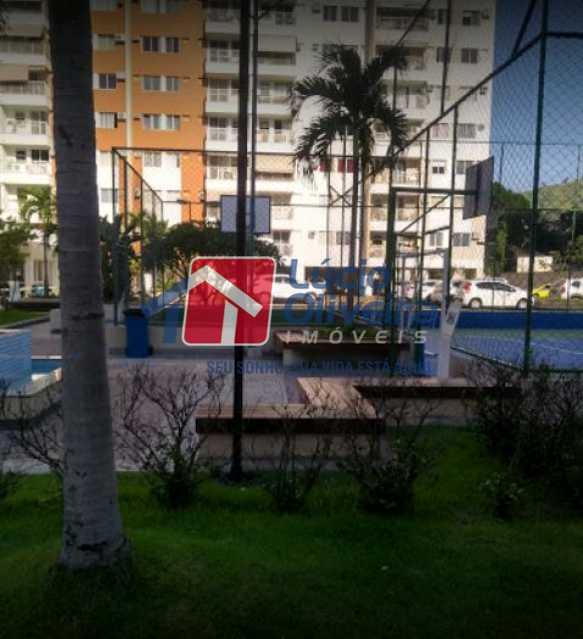 25-Quadra esportes - Apartamento à venda Rua Bernardo Taveira,Vila da Penha, Rio de Janeiro - R$ 420.000 - VPAP21644 - 26