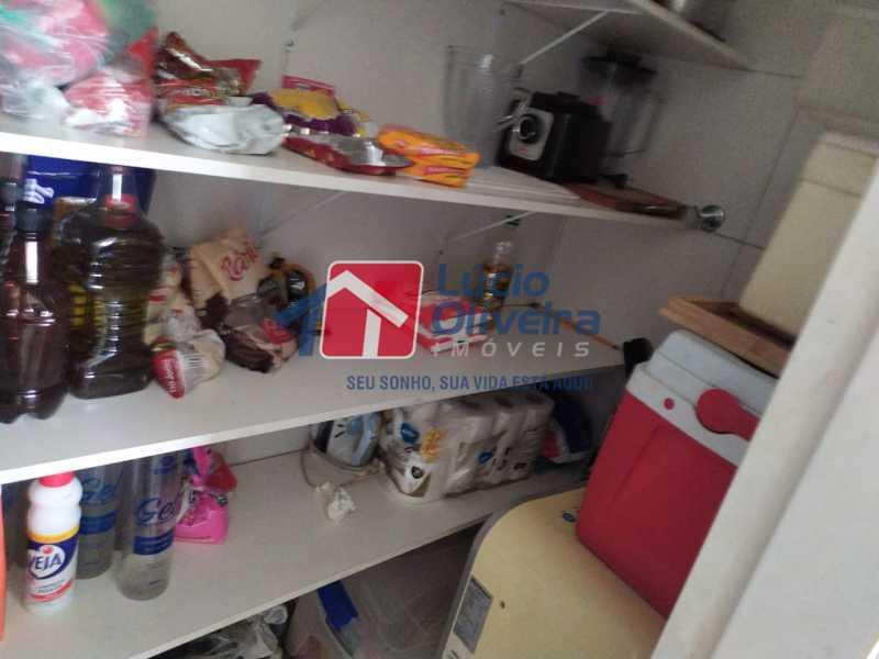 Banheiro de serviço,, - Apartamento à venda Rua Retiro dos Artistas,Pechincha, Rio de Janeiro - R$ 480.000 - VPAP30417 - 18