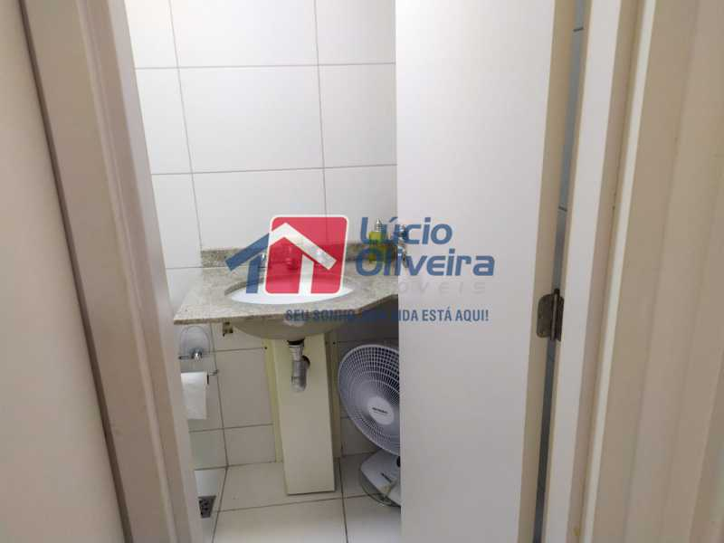 Banheiro suite,,, - Apartamento à venda Rua Retiro dos Artistas,Pechincha, Rio de Janeiro - R$ 480.000 - VPAP30417 - 15