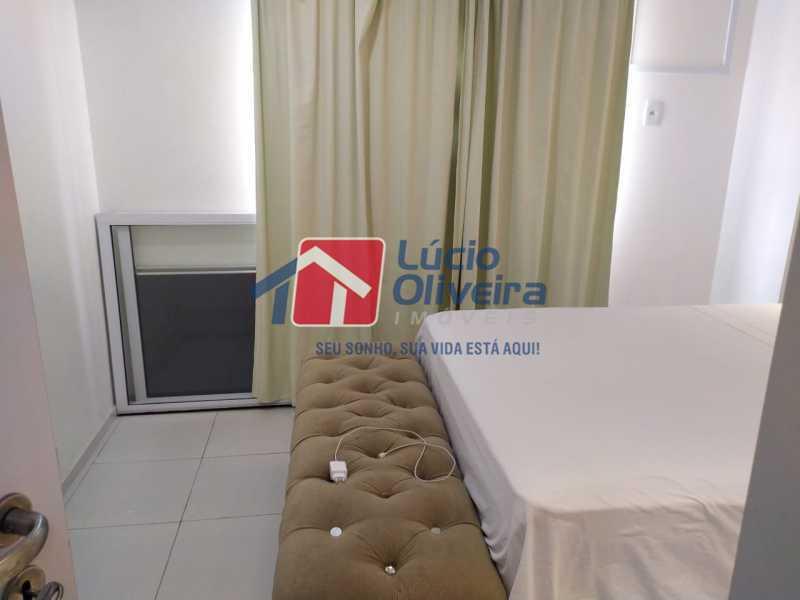 Quarto 3 - Apartamento à venda Rua Retiro dos Artistas,Pechincha, Rio de Janeiro - R$ 480.000 - VPAP30417 - 13