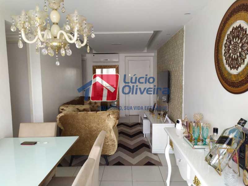 Sala - Apartamento à venda Rua Retiro dos Artistas,Pechincha, Rio de Janeiro - R$ 480.000 - VPAP30417 - 4