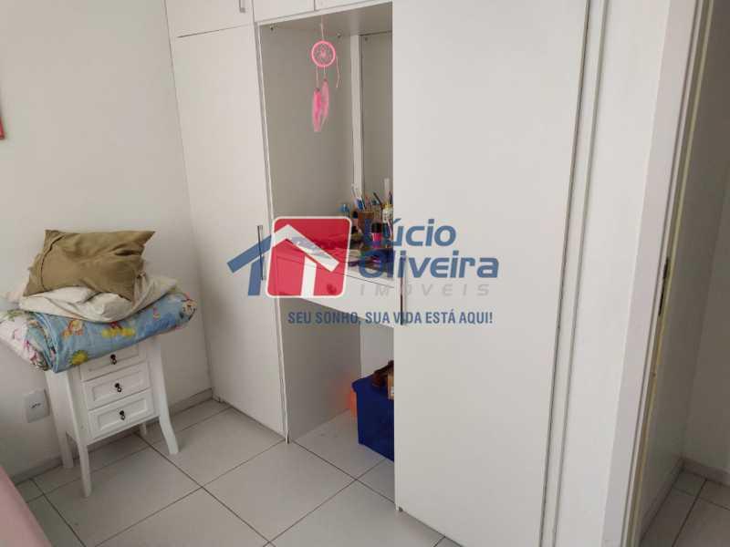 Quarto 2 - Apartamento à venda Rua Retiro dos Artistas,Pechincha, Rio de Janeiro - R$ 480.000 - VPAP30417 - 9