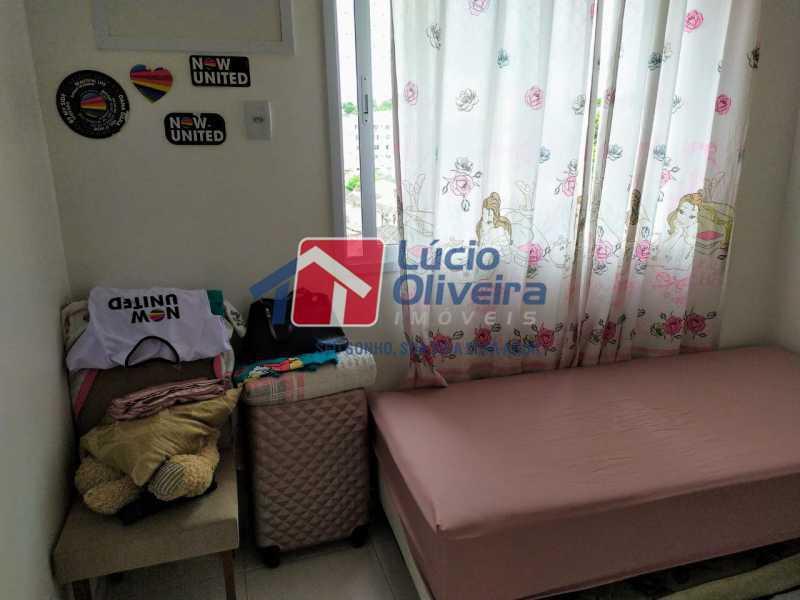 Quarto 2,, - Apartamento à venda Rua Retiro dos Artistas,Pechincha, Rio de Janeiro - R$ 480.000 - VPAP30417 - 10