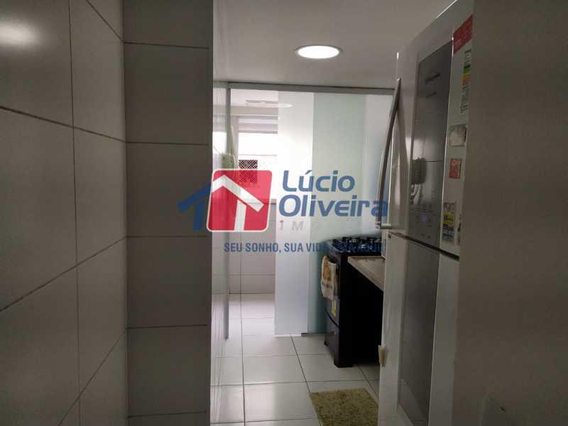 Cozinha,,, - Apartamento à venda Rua Retiro dos Artistas,Pechincha, Rio de Janeiro - R$ 480.000 - VPAP30417 - 20
