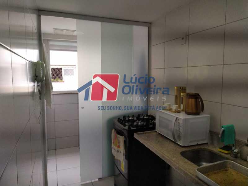 Cozinha, - Apartamento à venda Rua Retiro dos Artistas,Pechincha, Rio de Janeiro - R$ 480.000 - VPAP30417 - 21