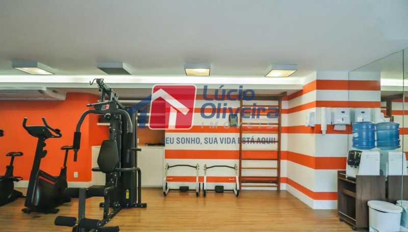 sala fitness - Apartamento à venda Rua Retiro dos Artistas,Pechincha, Rio de Janeiro - R$ 480.000 - VPAP30417 - 28