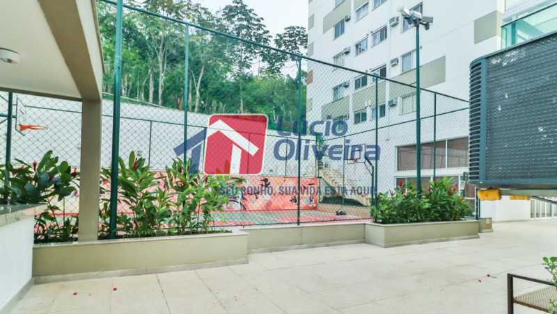 quadra - Apartamento à venda Rua Retiro dos Artistas,Pechincha, Rio de Janeiro - R$ 480.000 - VPAP30417 - 27