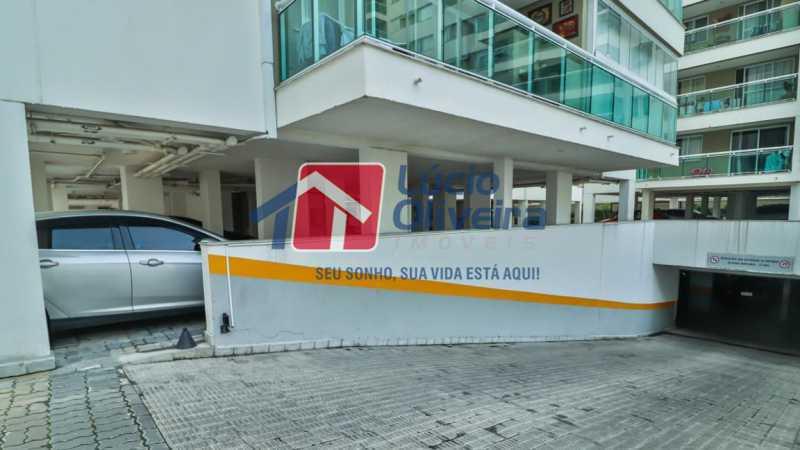 garagem - Apartamento à venda Rua Retiro dos Artistas,Pechincha, Rio de Janeiro - R$ 480.000 - VPAP30417 - 31