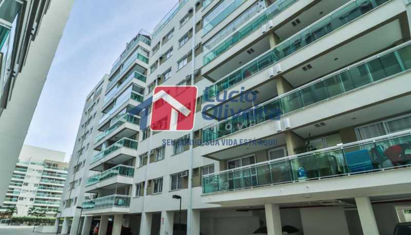 fachada - Apartamento à venda Rua Retiro dos Artistas,Pechincha, Rio de Janeiro - R$ 480.000 - VPAP30417 - 22