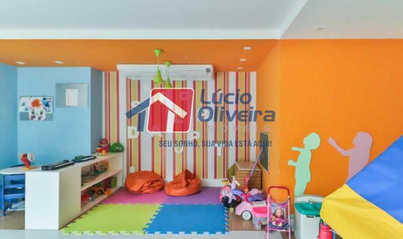 brinquedoteca - Apartamento à venda Rua Retiro dos Artistas,Pechincha, Rio de Janeiro - R$ 480.000 - VPAP30417 - 29