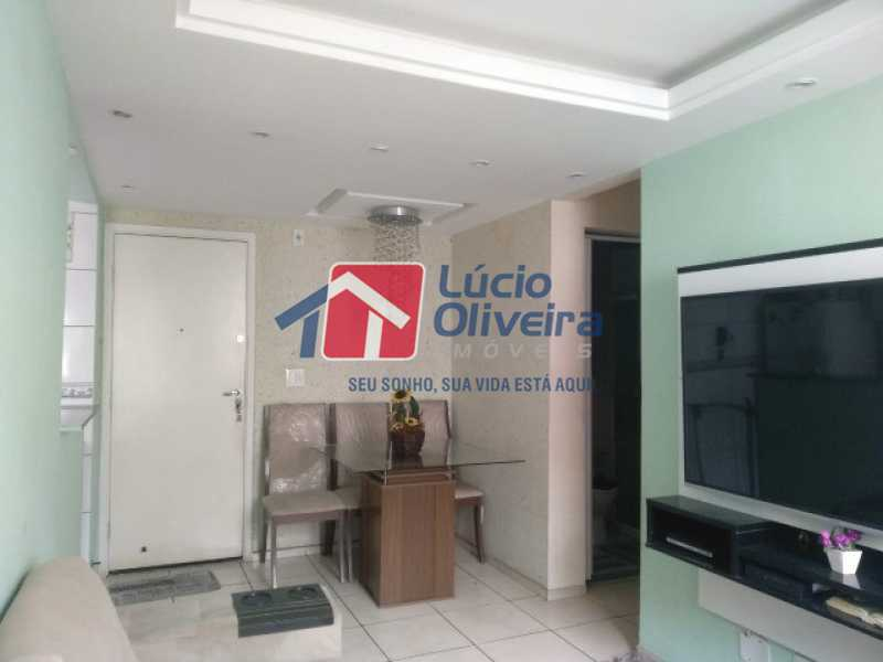 1- Sala ambiente - Apartamento à venda Estrada do Barro Vermelho,Rocha Miranda, Rio de Janeiro - R$ 195.000 - VPAP21649 - 1